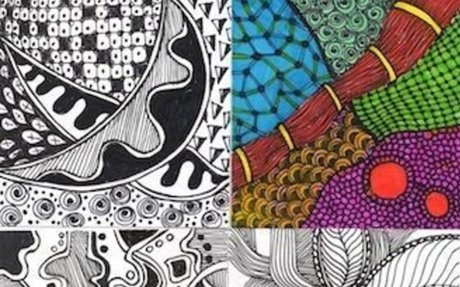 Calm Down and Get Your Zentangle On