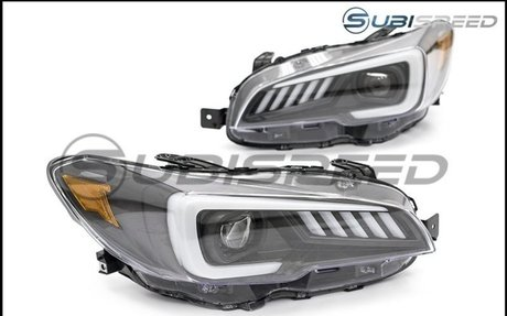 SubiSpeed DRL / Sequential Full LED Headlights - *15+ WRX / 2015-2017 STI