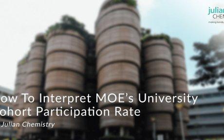 How To Interpret MOE's University Cohort Participation Rate