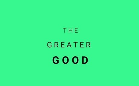 Editor's Letter — April 2016: The Greater Good | Margins Magazine