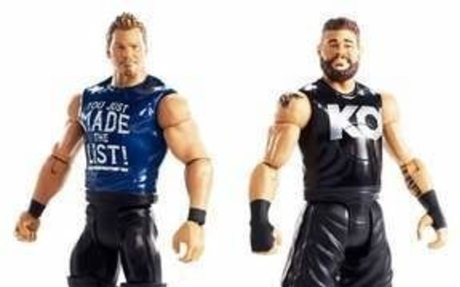 WWE Tough Talkers Total Tag Team Kevin Owens and Chris Jericho Figure 2pk