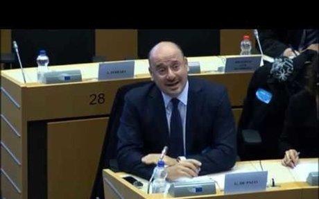 Giuseppe De Palo at Eu Parliament
