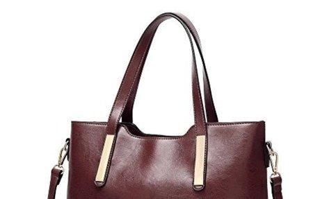 COCIFER Women Purses and Handbags Shoulder Top Handle Tote Bags Wallet Sets $27.98