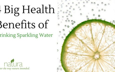 4 Big Health Benefits of Drinking Sparkling Water