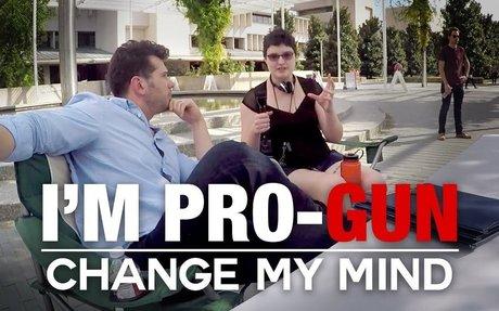 REAL CONVERSATIONS: I'm Pro-Gun | Change My Mind