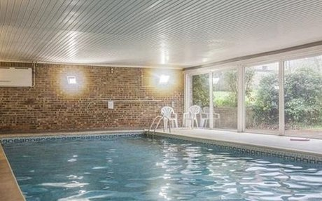 Property with swimming pool and sauna on sale for first-time buyer budget