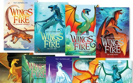 All of the Wings of Fire books