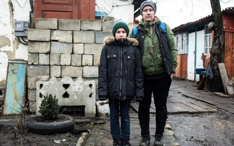 Life is a daily battle for families in Ukraine conflict zone