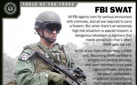 Tools of the Trade: FBI SWAT