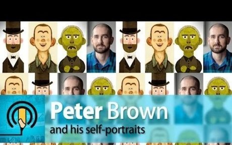 Peter Brown and his Self-Portraits