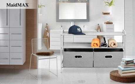 Amazon.com: Closet Organizer, MaidMAX 3-Tier Clothes Drawer Shelf Closet Storage Rack Orga