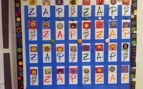 ZAP!!  Review Game