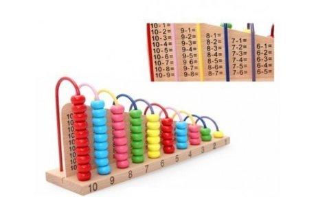 Плус  Минус – Креативна играчка  со 10 степени за пресметка