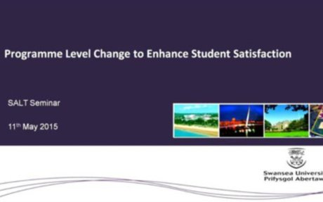 Programme Level Change to Enhance Student Satisfaction Step Changes in Student Satisfac...
