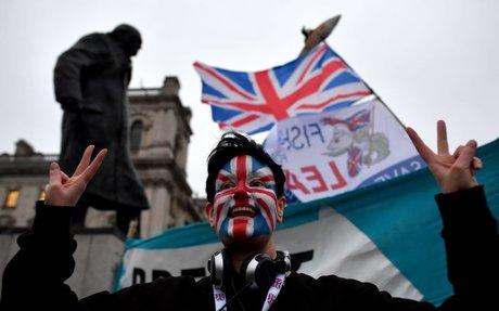 Britain plays hardball in Brexit trade talks