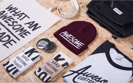 Awesome Merchandise for Manufacturing Custom T-Shirts, Pins & More