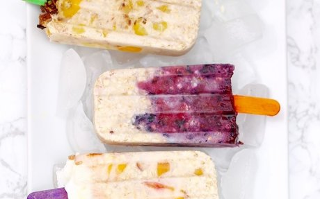 Overnight Oats Popsicles