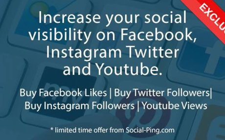 Social-Ping provide you with high quality Instagram Followers within hours and help to bui