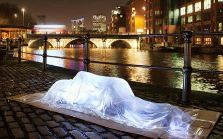 Invisible Homeless - Luke Jerram