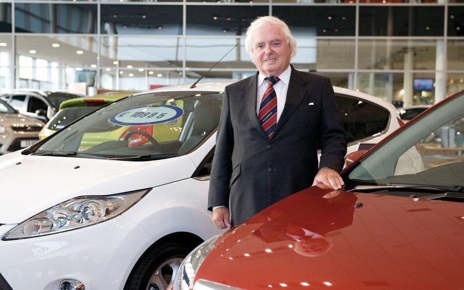 Car dealership founder Sir Arnold Clark dies aged 89