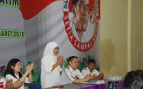 Poltracking Indonesia: Pemilih Jokowi Jatim, Pro Khofifah | JatimSiji.ID