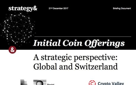 2018-01 Crypto Valley Association & PwC strategy&: ICO Report