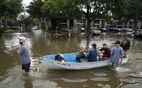 Hurricane Harvey previews our stormy future