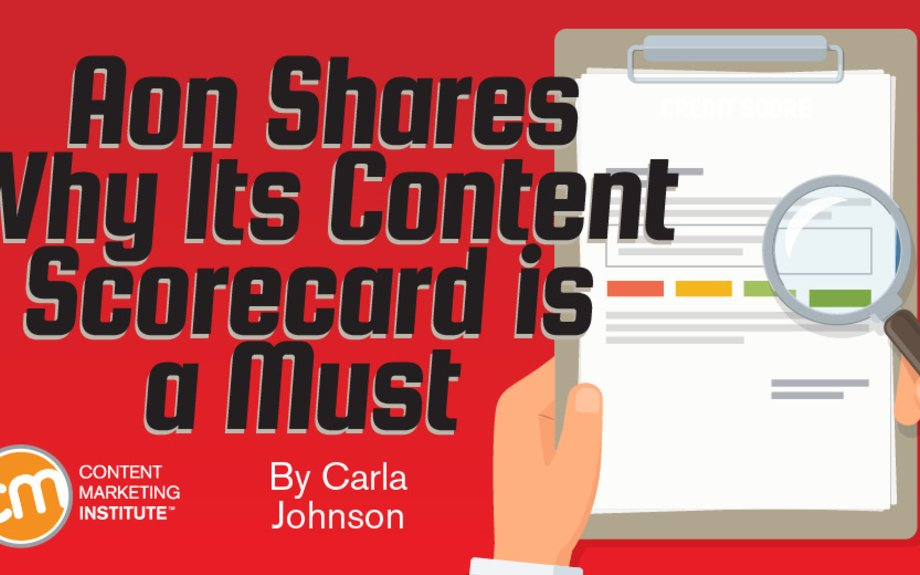 Aon Shares Why Its Content Scorecard Is a Must