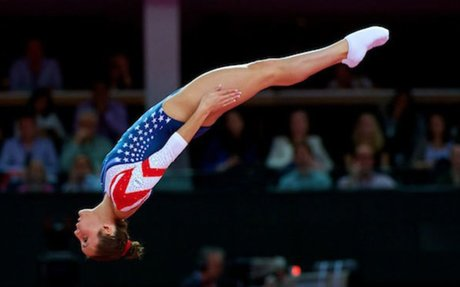 most famous female trampolinist