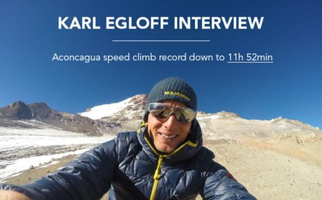 30 questions for Karl Egloff: The new Aconcagua speed climb record holder  | Skintrack.com