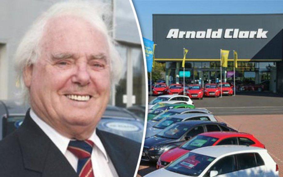 Millionaire car dealer Arnold Clark dies aged 89