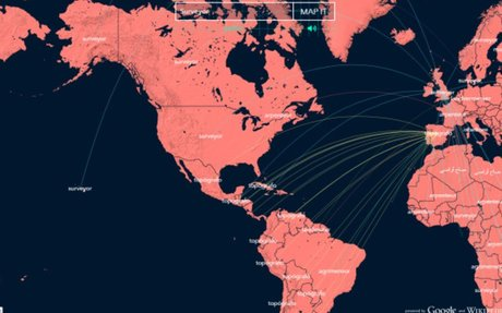 Mapping the Word 'Surveyor' in Every Language