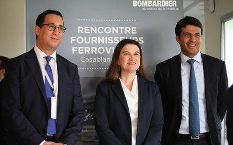 MAROC | Bombardier compte développer l'écosystème ferroviaire marocain