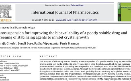 Nanosuspension for improving the bioavailability of a poorly soluble drug and.pdf