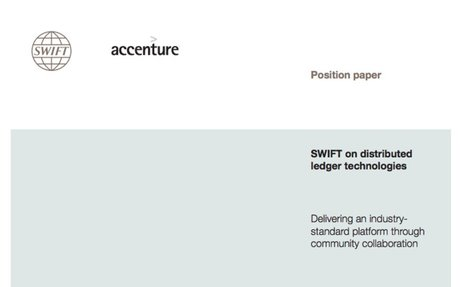 2016-04 Position Paper: SWIFT & Accenture on distributed ledger technologies
