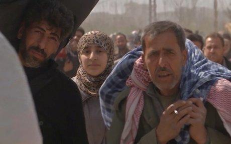 الغوطة الشرقية: نزوح هائل للسكان