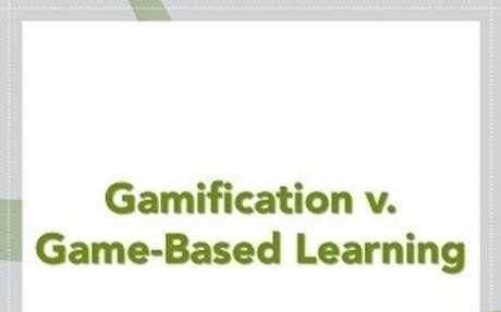 The Difference between Gamification and Game-Based Learning