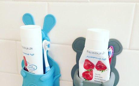 Amazon.com: Tooletries Toiletry Organizer Kangaroo, Silicone, Grey, 21 x 9.6 x 4 cm: Kitch