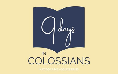 FREE Colossians Reading Plan and Scripture Print