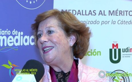 María Luz Sanchez García-Arista cree en la mediación escolar