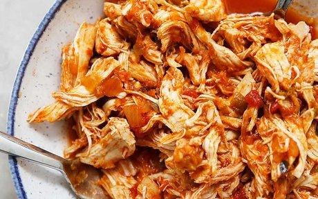 Shredded Salsa Chicken (Instant Pot) Recipe | Yummly
