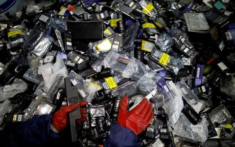 'Urban mining' in South Korea pulls rare battery materials from...