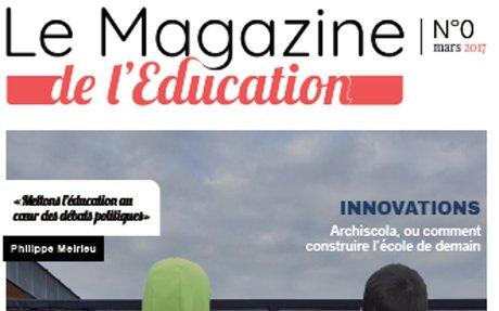 PRESSE : N° ZERO pour le Magazine de l'Education