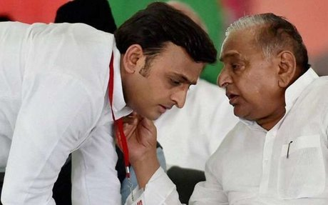 UP CM Akhilesh Yadav and Ram Gopal Yadav expelled from the party for 6 years
