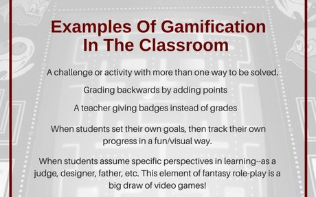 12 Examples Of Gamification In The Classroom -