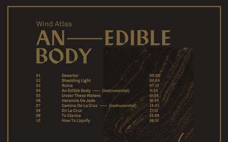WIND ATLAS - An Edible Body - bespreking door Dark Entries
