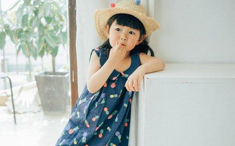 MARUKO HAHA  女宝宝夏装无袖棉麻水果连衣裙女童夏季菠萝背心裙