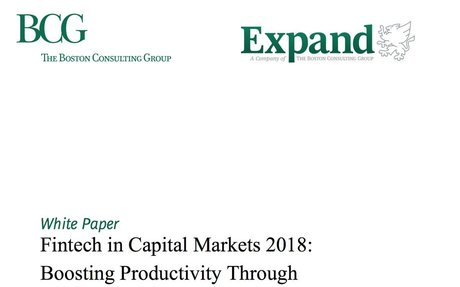 2018-03 BCG White Paper: FinTech in Capital Markets 2018