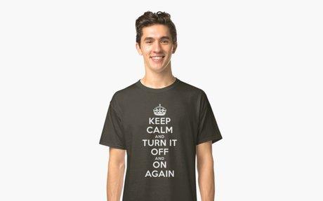 'Keep Calm' Classic T-Shirt by Arian-Arben