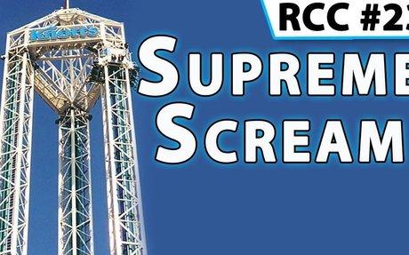 Supreme Scream Turbo Drop @ Knott's Berry Farm